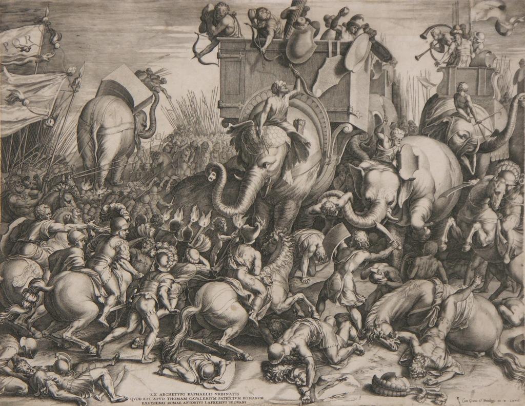 En el podcast de enemigos de Roma hablamos de la batalla de Zama.